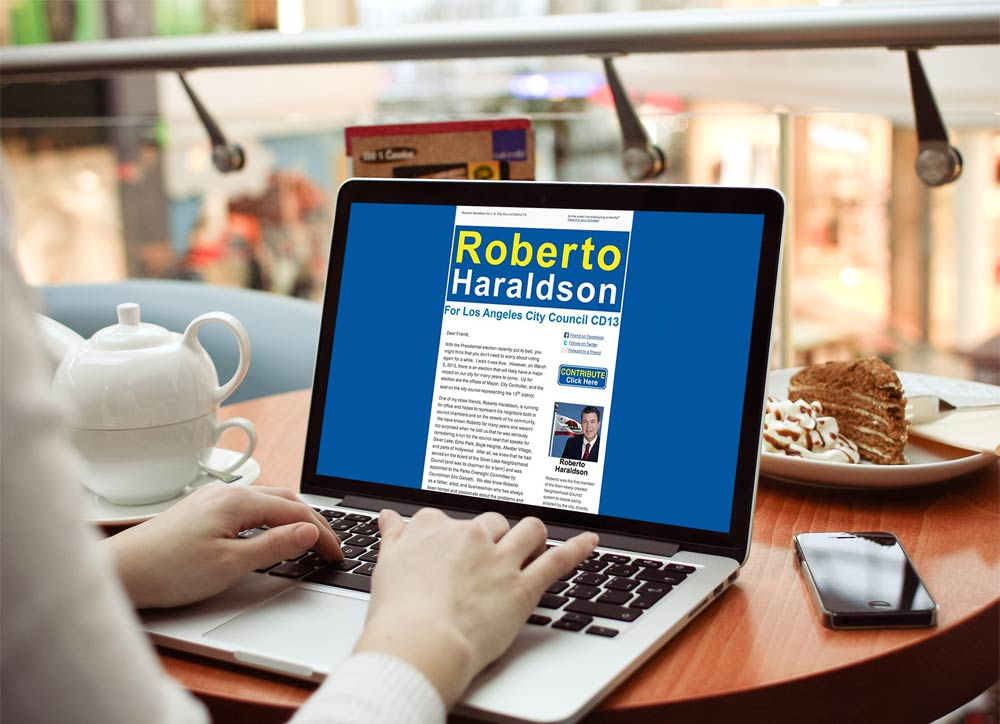 Roberto Haraldson Campaign Newsletter