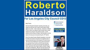 Roberto Haraldson Newsletter