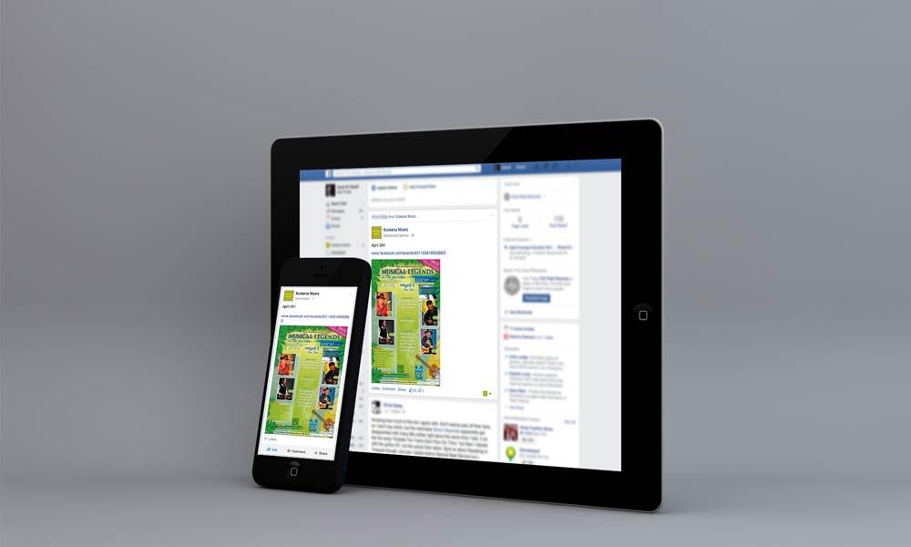 Hawaiian Legends Facebook Advertisements