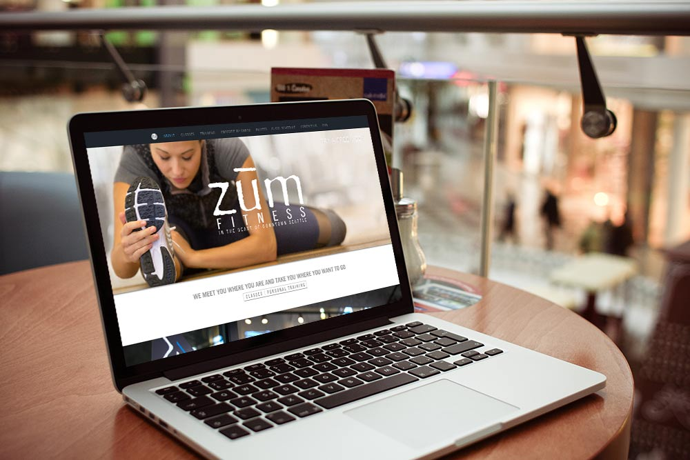 ZUM Fitness WordPress site
