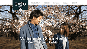 Sato Hemp clothing