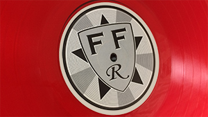 Flat Field Records branding and design